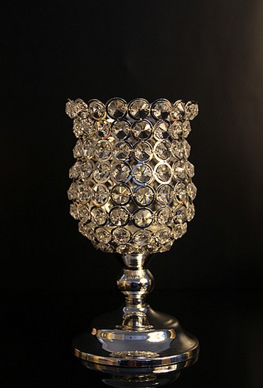 Free shipping vintage crystal wedding centerpiece table