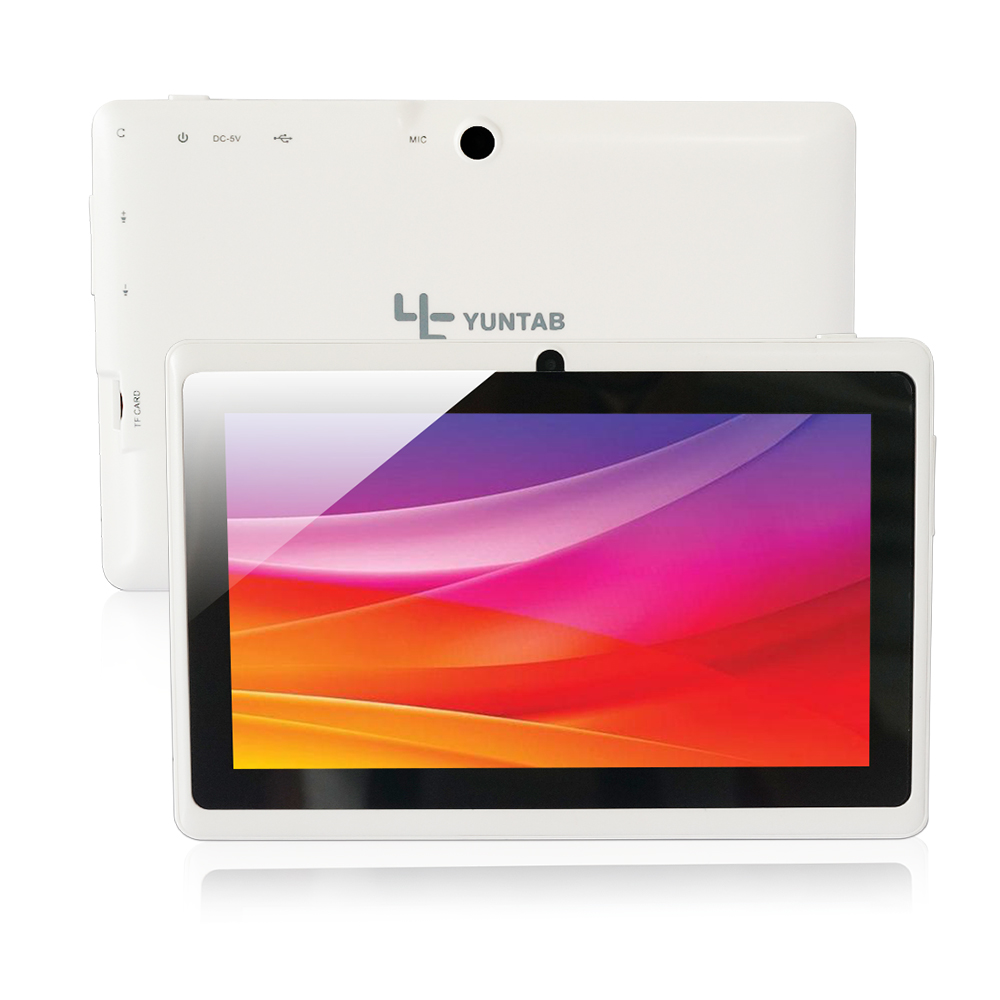 Low price! Yuntab 7 Inch Tablet Q88, Android Tablet PC,Allwinner A33 Tablet,Quad Core Tablet 1.5Ghz Dual Camera Wifi External 3G(China (Mainland))