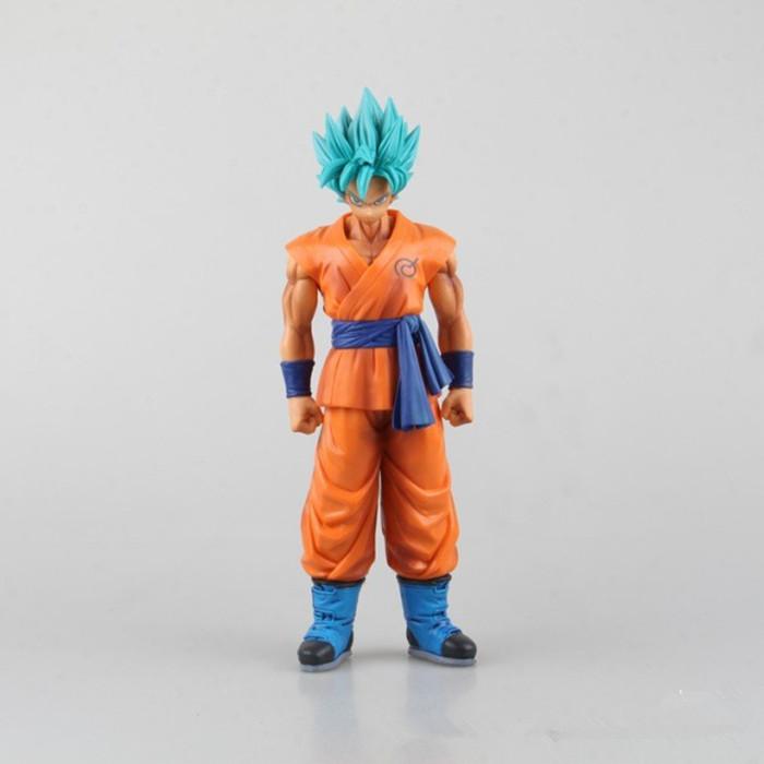 The Son Goku Gokou Banpresto Master Stars Piece Dragon Ball Z Fukkatsu no F Resurrection F Super Saiyan 27CM Action Figure(China (Mainland))