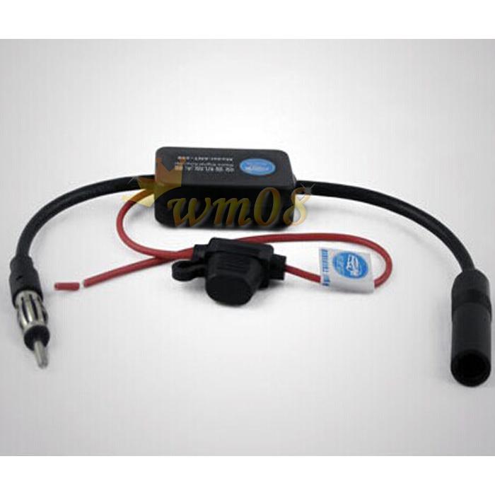 Carro antena de r dio fm antena amplificador de sinal - Amplificador de antena ...