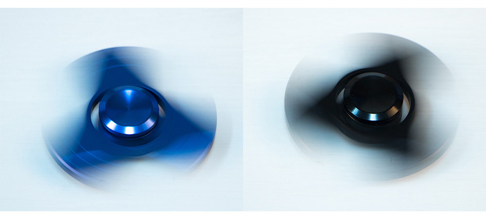 2017 New 5colors EDC Tri-Spinner Fidget Toys Pattern Hand Spinner Metal Fidget Spinner and ADHD Adults Children Educational Toys