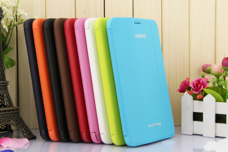 4 in 1 For Samsung Galaxy Tab 4 7 0 Business Original Leather Case 3 Folding