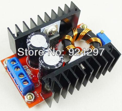 150W Adjustable DC 10V-32V to 12V-35V Step up Boost Power Supply Module