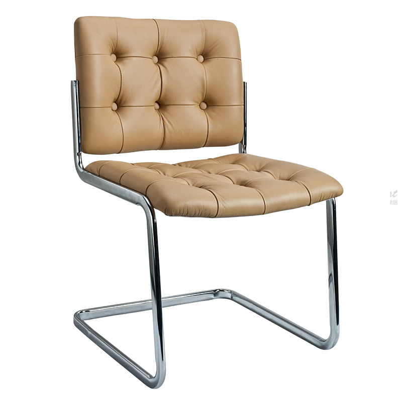 Comfortable metal dining chairs what makes a modern for Comfy stylish chairs