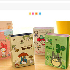 Купить Офисные и Школьные принадлежности  New Fashion Cute Japan Totoro series Notepad/Sticky note/Note pads Memo/Memo Pads/Writing scratch pad None