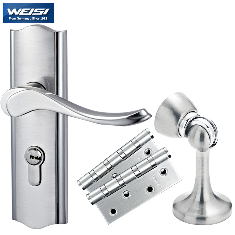 Visa german three piece meal modern interior door handle for Door handle in german