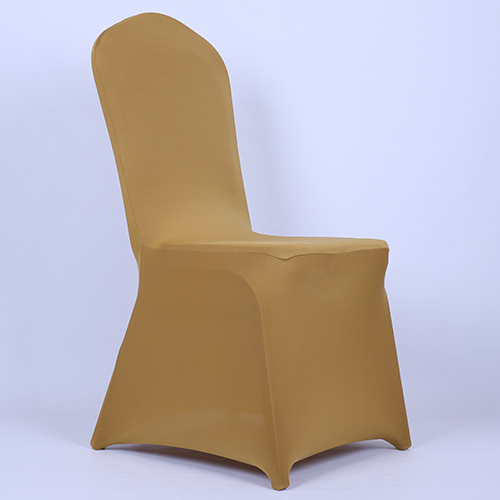 White Polyester Spandex Folding Chair Slipcover for Wedding Party Various Col
