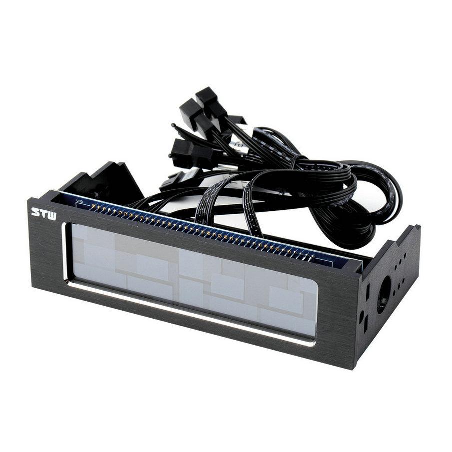 """Здесь можно купить  Hot 5.25""""Touch Screen Front Panel 4 Channels PC Temperature Fan Controller hot new   Электронные компоненты и материалы"""