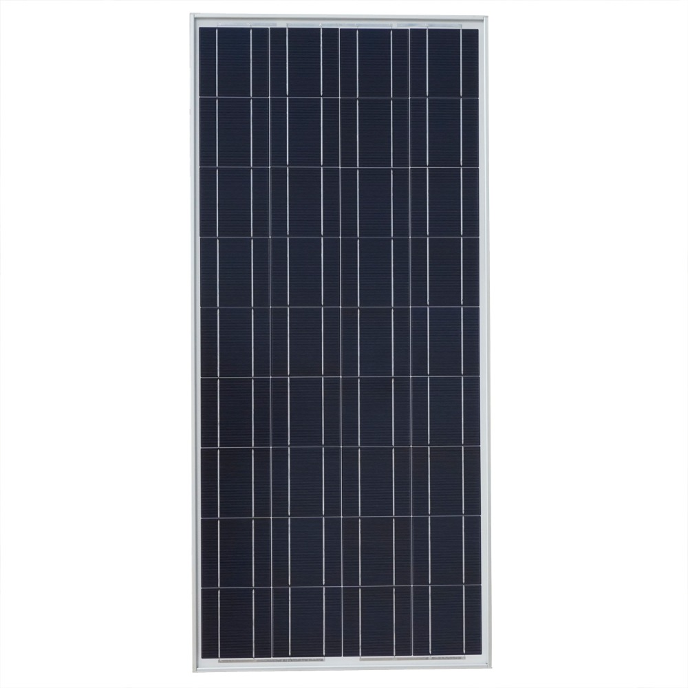 USA Stock 100W Watts Solar Panel Off Grid 12 Volt RV Boat Solar Module for Home Caravan Boat Power Supply Free Shipping(China (Mainland))