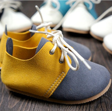Genuine Leather handmade mixed colors style baby shoes First Walkers Toddler baby moccasins Anti-slip Infant Lace-up Soft Shoes(China (Mainland))