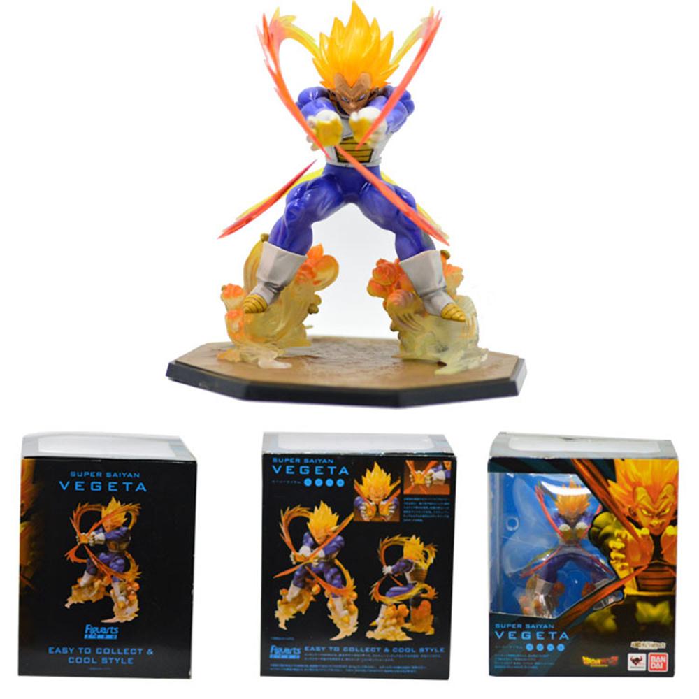 Hot Selling Promotion dragonball z figure Marvel New Japanese Anime Super Saiyan Goku Pvc Dragon ball figurine 17cm(China (Mainland))