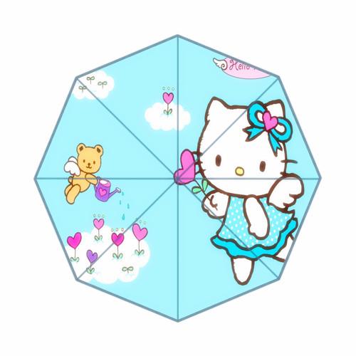Beautiful custom Hello Kitty umbrella kazbrella umbrella outdoor umbrella(China (Mainland))