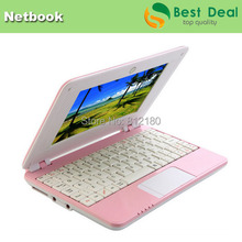 7 inch Mini Netbook PC Android 4.4.2 with English/Spanish/Russian keyboard VIA8880 HDMI laptop(China (Mainland))