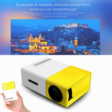 Newest YG300 LCD Projector 600LM Home Media Player MINI Projector For Video Games TV Home Theatre Movie Support HDMI AV SD(China (Mainland))