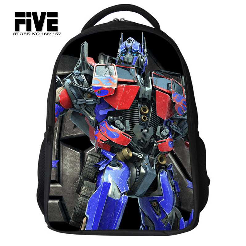 Гаджет  2015 Cartoon Mochilas children school bags Transformers bags for boys primary children,New Children Avengers Boy Backpack None Камера и Сумки