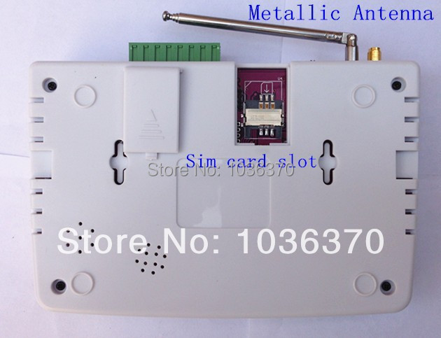 Dual antenna alarm system GSM alarm system intercom smart home GSM SMS alarm system gsm security