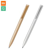 Buy New Original Xiaomi Pen Xiaomi Mijia Pen 0.5mm Smooth Switzerland Refill Japan Xiaomi Mijia Sign Pen PC Metal White Gold Silver for $7.19 in AliExpress store