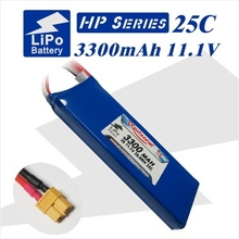 2pcs Redzone rc lipo battery 25C 3300mAh 11.1V 3s1p for fixed-wing aircraft helicopter