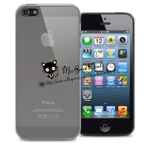 0.5mm Ultra Thin case for iPhone 5G Slim Clear skin Cover Case For iPhone 5
