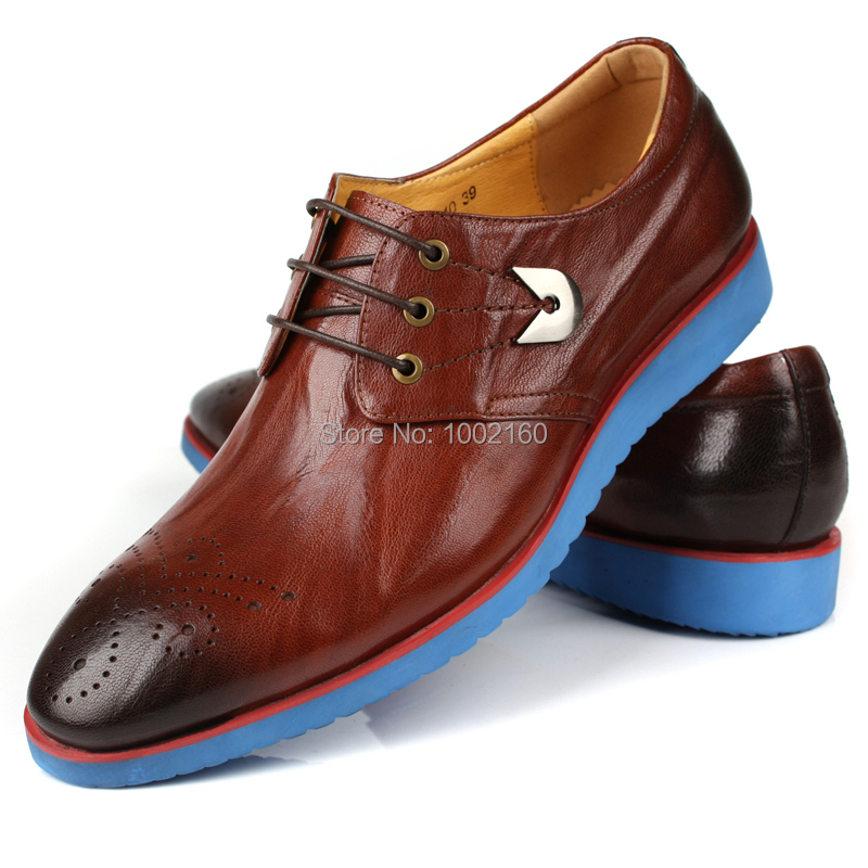 Comfortable genuine leather male casual leather pointed toe shoes trend breathable soft leather lacing shoes male<br><br>Aliexpress