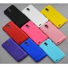 Colorful Cover Bag For Huawei Frosted Colorful Luxury Rubber Matte Hard Back Case For Huawei Ascend D1 U9500 Wholesale(China (Mainland))