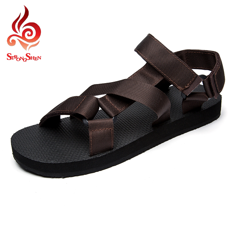 fashion shoes men sandals casual flat summer beach men's shoes sewing buckle breathable sandals outdoor leisure shoes JL-F12(China (Mainland))