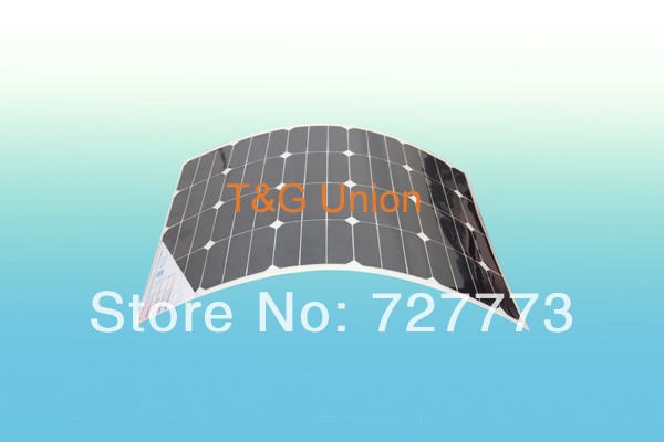 60W Flexible Solar Panel with Sunpower solar cells