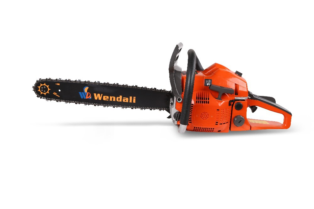 High quality Garden Tools chainsaw displacement 52cc power 2.1KW with 18''bar gasoline chain saw with CE(China (Mainland))