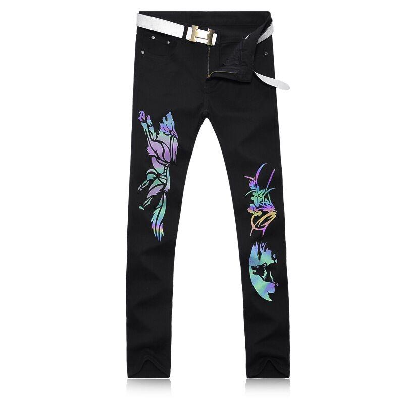 Online Get Cheap Mens Skinny Jeans Pattern -Aliexpress.com ...