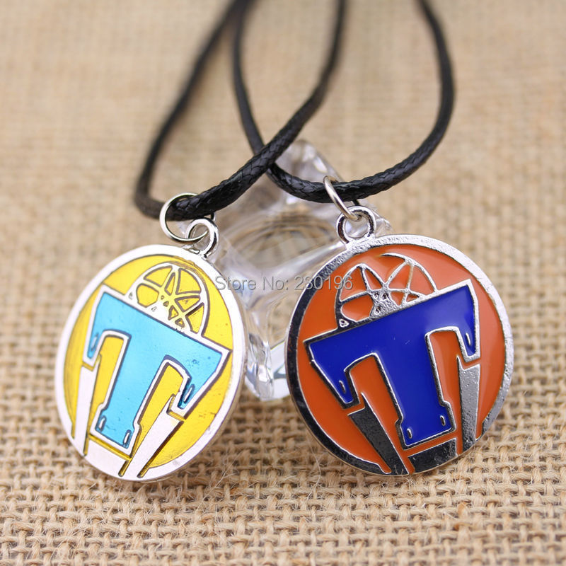 Tomorrowland Necklace Letter 'T' LOGO Platinum Plated Movie Related Products Rope Chain 50cm For Women and Men Free Shipping(China (Mainland))