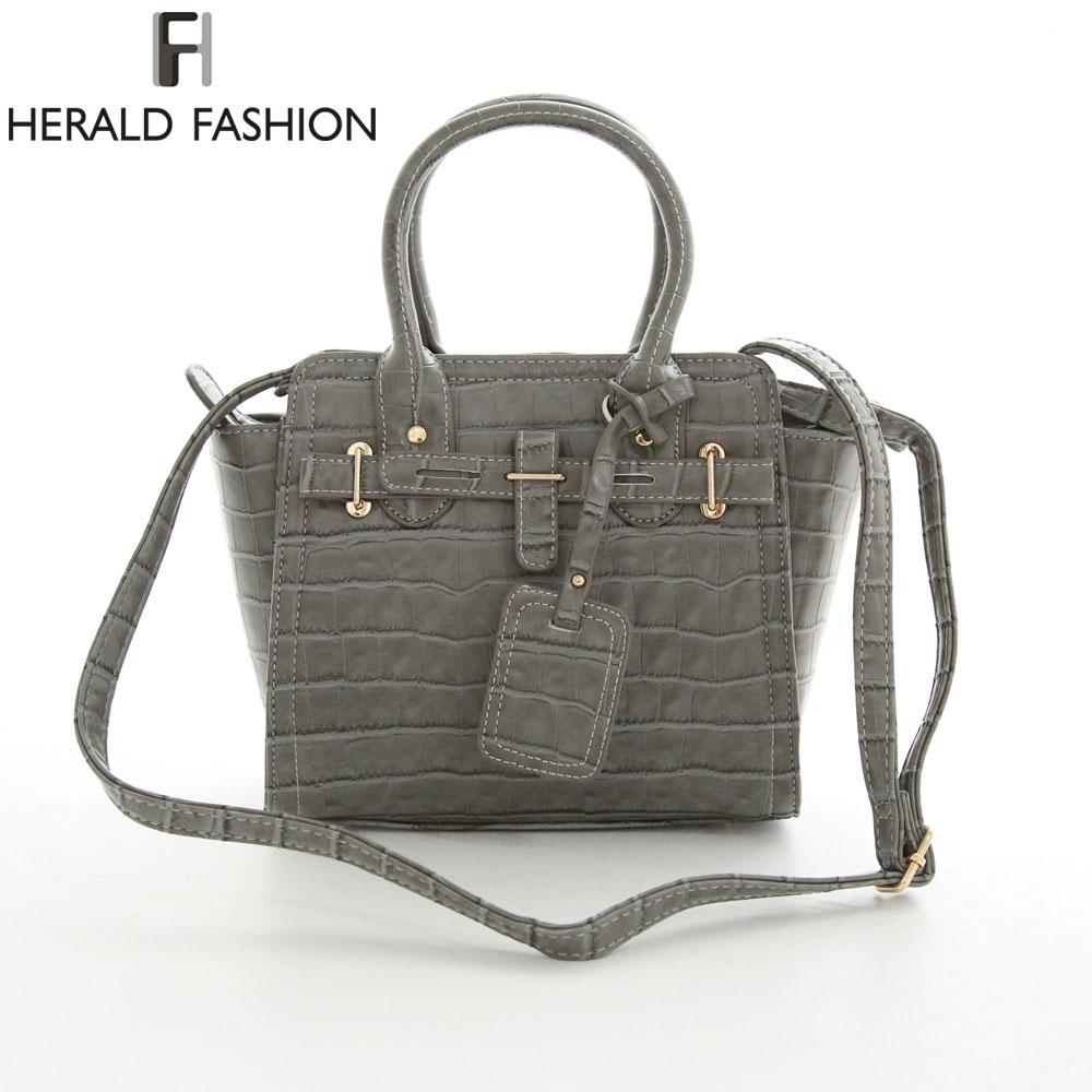 Herald Fashion Stone Pattern Women Messenger Bags Min Small PU Leather Women Tote Bag Solid Candy Color Shoulder Bag(China (Mainland))