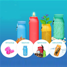 Collapsible Cup Promotion Tour with Lid Travel Mugs Squeeze Original New  Outdoor Foldable sports Water Bottle My Bottle(China (Mainland))