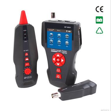 Free shipping, Noyafa NF-8601 Wire Locator Equipment lan cable tester with Check the PING&POE and cross-talk functions for RJ45(China (Mainland))