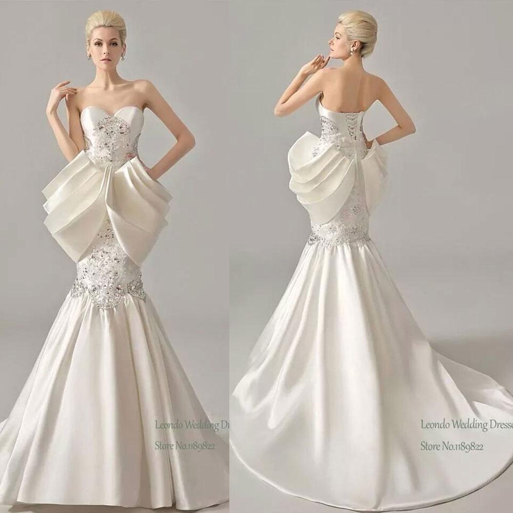 Wedding dresses for unique bride best vintage lace for Stylish wedding dresses