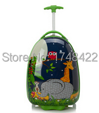 Hot Style Kids Trolley Bags/Kids 3D Elephant Pattern 16 Inch Luggage /Innovation Children Travel Bag - Lovely Treasure House store