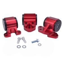 Buy EG Red BILLET ALUMINUM SWAP ENGINE MOTOR MOUNT KIT FOR CIVIC EH DC D15 D16 B16 B18 for $33.46 in AliExpress store