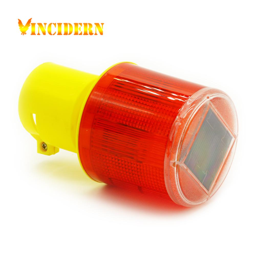 10pcs Solar Powered Traffic Light,LED Solar Safety Signal Beacon Alarm Lamp Solar Emergency LED Strobe Warning Light(China (Mainland))