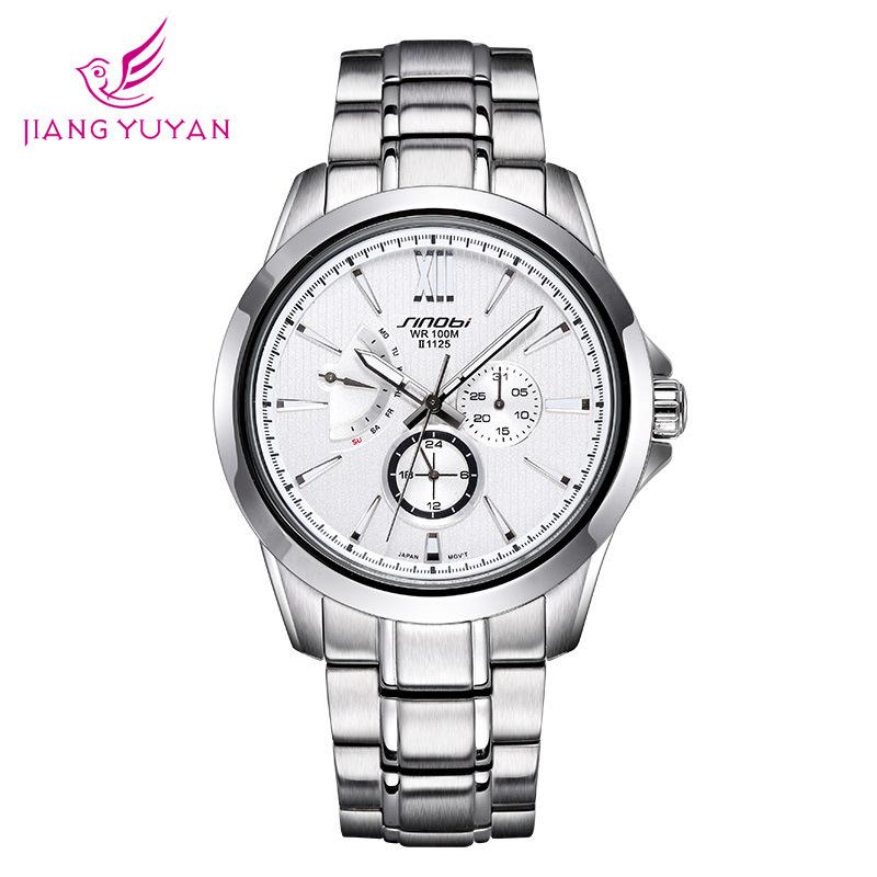 Taobao adicolo genuine Kenobi SINOBI luminous hands really 3 disc six needle with male watch timer<br><br>Aliexpress