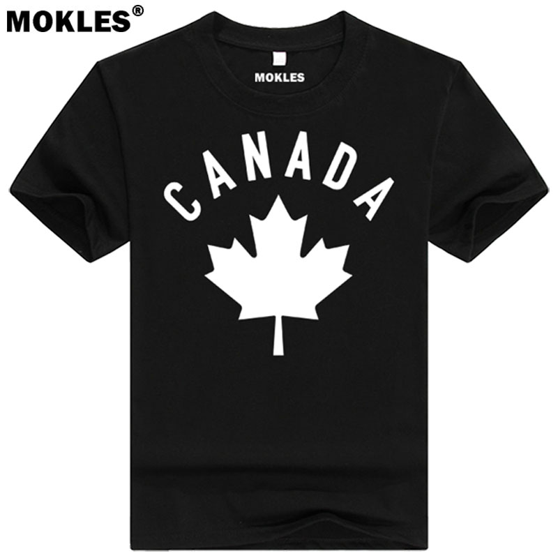 Popular canada tshirt buy cheap canada tshirt lots from for Where can i order custom t shirts
