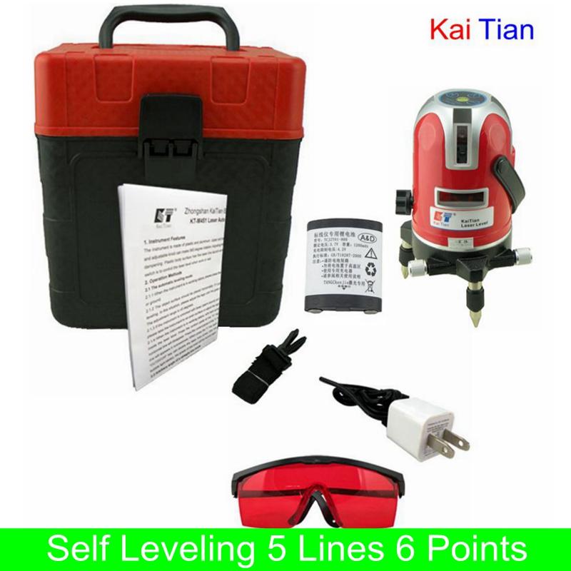 Лазерный уровень KaiTian 6