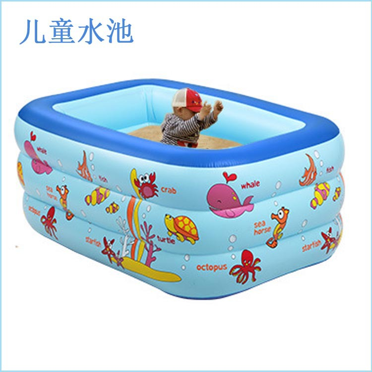 2016 new style Cute Swimming Pool Children Swimming Pools Baby Inflatable Piscina Paddling pool(China (Mainland))
