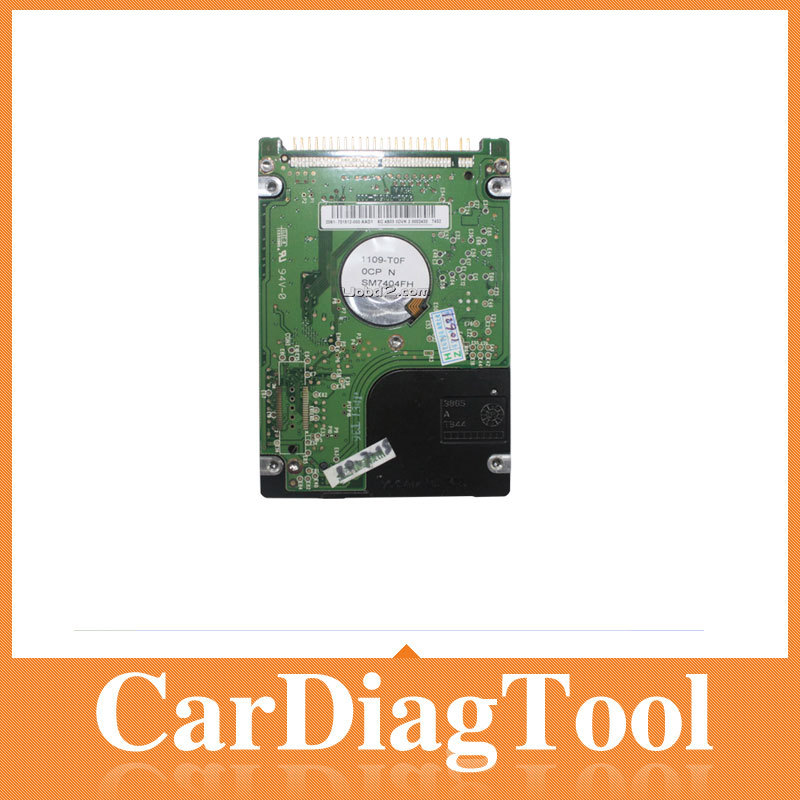 HOT !!! 2014.1 Latest C3 native software Mercedes Benz Star C3 Das T30 HDD, native software Free Shipping(China (Mainland))