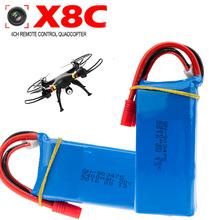 5pcs For Syma X8W X8C Upgraded Lipo 7.4v 2400mah Battery Syma X8G KAIDENG K70 K70C K70W K70F RC Quadcopter Drone Wholesale