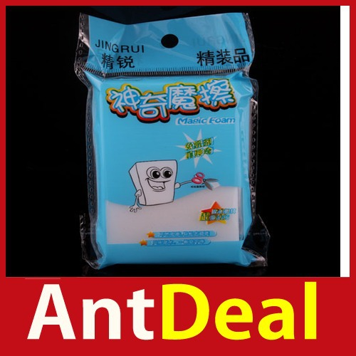 upgrade AntDeal Magic Sponge Clean Cleaner Cleansing Eraser Car Wash High Quality classic(China (Mainland))