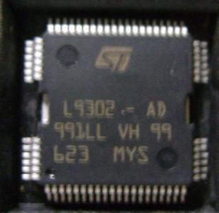 L9302 - AD encapsulation: QFP - 64 manufacturer: ST new car computer board chip(China (Mainland))
