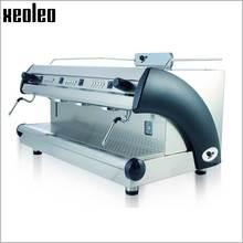 Xeoleo Commercial Semi-Automatic Coffee machine Three nozzle semiautomatic coffee maker L-BEANS Professional Espresso machine
