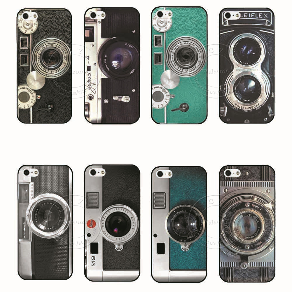 2015 New Arrival Camera Style Pattern PC Hard Case Cover for Apple i Phone iPhone 4 4S 4G 5 5S 5G(China (Mainland))
