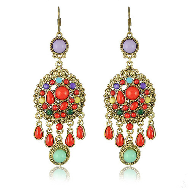 Hot Sell Vintage Drop Earrings Jewelry Vintage Earring for Women