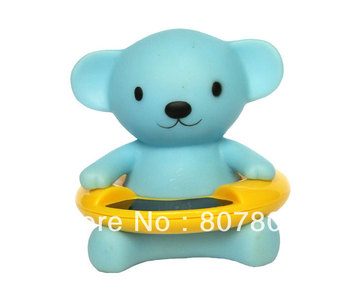 Factory Sale 60pcs/lot Baby Gift Cute Bear Bath Tub Baby Infant Thermometer Water Temperature Tester