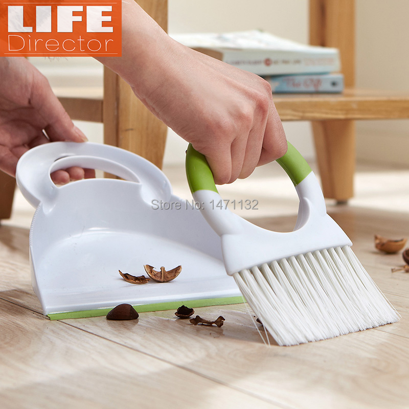 Quality!! Household Cleaning Broom Set Home Duster Brushes Clean Tools Housework Panelas Brushes Limpeza Cleaner Multifunction(China (Mainland))